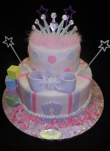 Princess Baby Shower Cakes - BS261