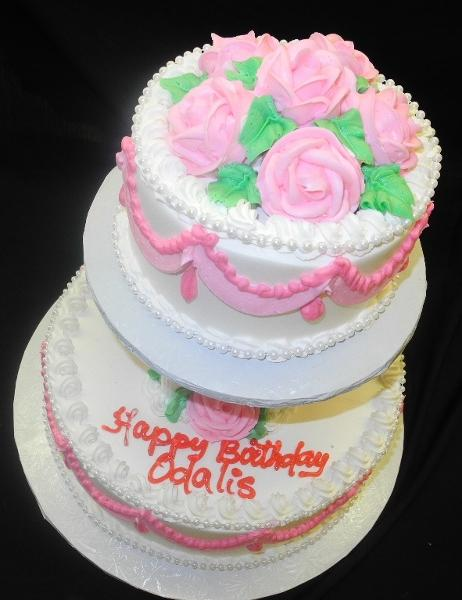 Girl Birthday Cake Quincea?±era and Sweet 16 Cakes - B0625