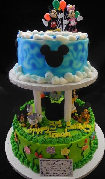 Inexpensive Mickey Mouse Cakes - B0087