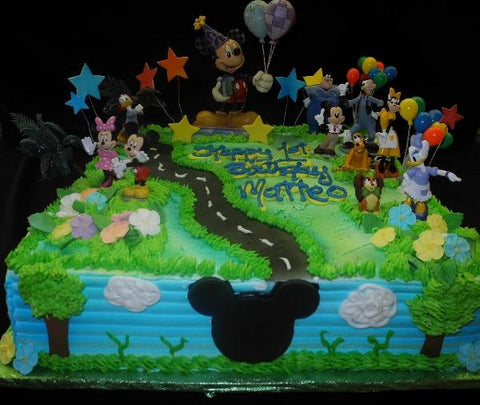 Mickey Birthday cakes - B0176