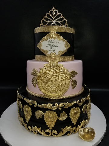 Versace style cake BS328