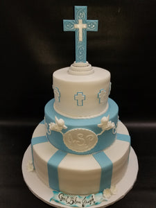 Christening Cake for boy -R062
