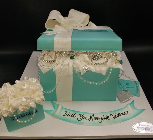 Will you marry me? Tiffany box W189