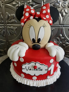Minnie mouse 3D Cake B004