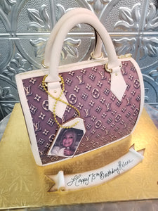 Louis Vuitton bag cake CS0300