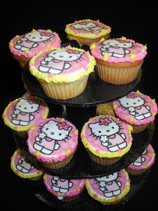 Hello Kitty Cup Cakes - CC015