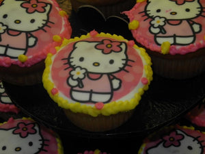Hello Kitty Cup Cake - CC073