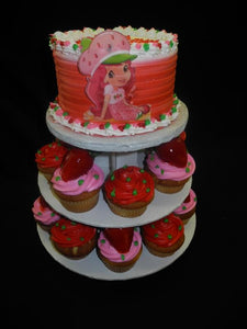 Strawberry Short Cake and Cup Cakes - B0333