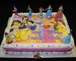 Disney Princess Cake - B0112