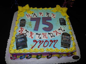 75th Birthday Cake