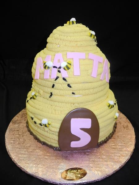 Bumble-Bee Baby shower Cake - BS156