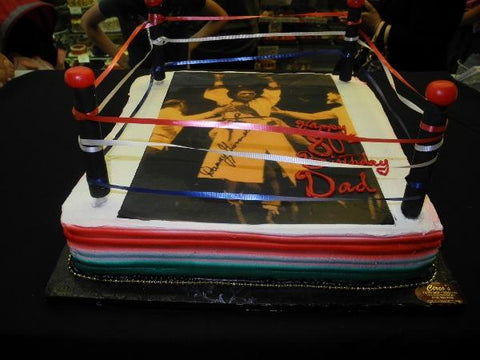 Boxing Ring Cake - B0756