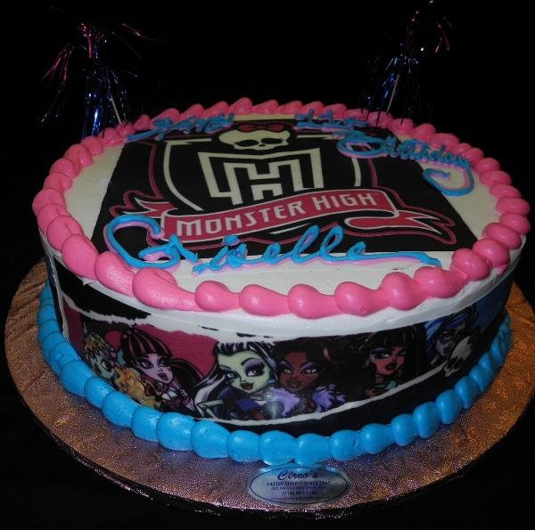 Monster High Birthday Cake - B0499