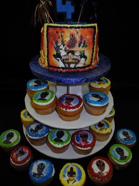 Power Rangers Cupcake Stand - CC052