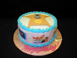 Fetch Cusomized Birthday Cake - B0644