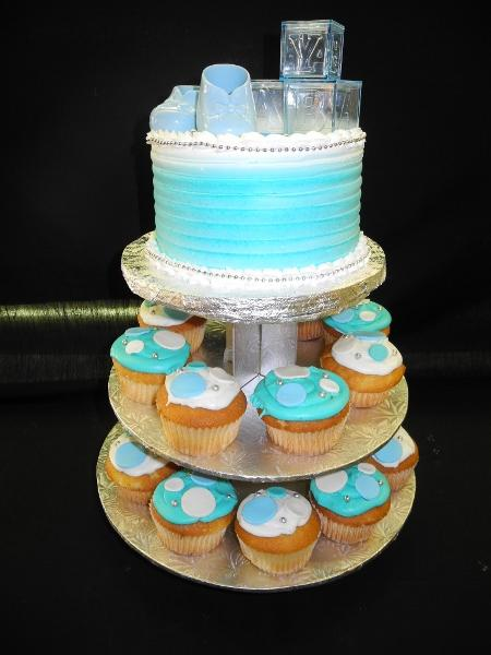 Baby Shower Cupcake Stand - CC110