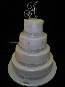 Diamond Wedding Cake - W147