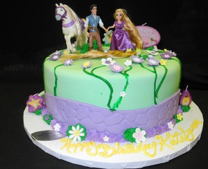 Tangled Birthday Cake - B0292