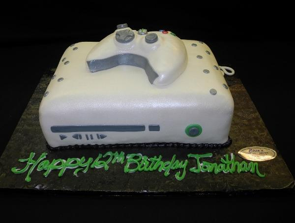 X-Box Birthday Cake - B0236