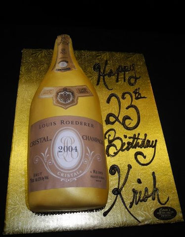 Cristal Bottle Cake - CS0018