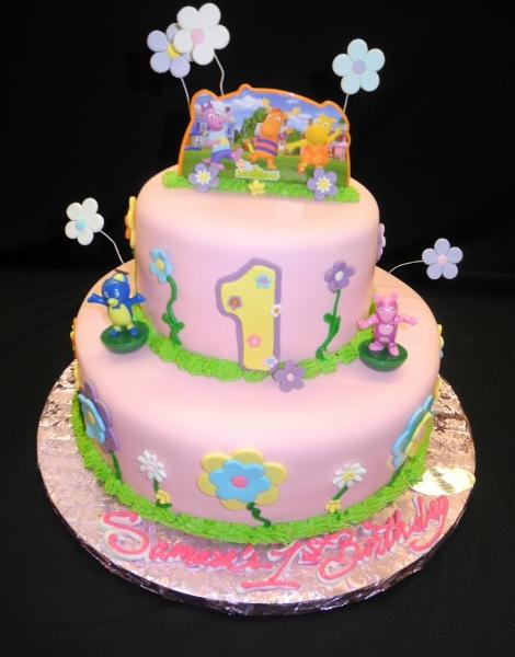 Backyardigans 1st Birthday Cake - B0790