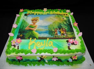 Wondrous Tinkerbell Birthday Cake B0279 Circos Pastry Shop Personalised Birthday Cards Cominlily Jamesorg