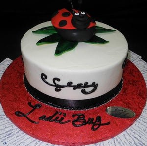 Peachy Products Tagged Lady Bug Birthday Tier Birthday Cake Circos Funny Birthday Cards Online Alyptdamsfinfo