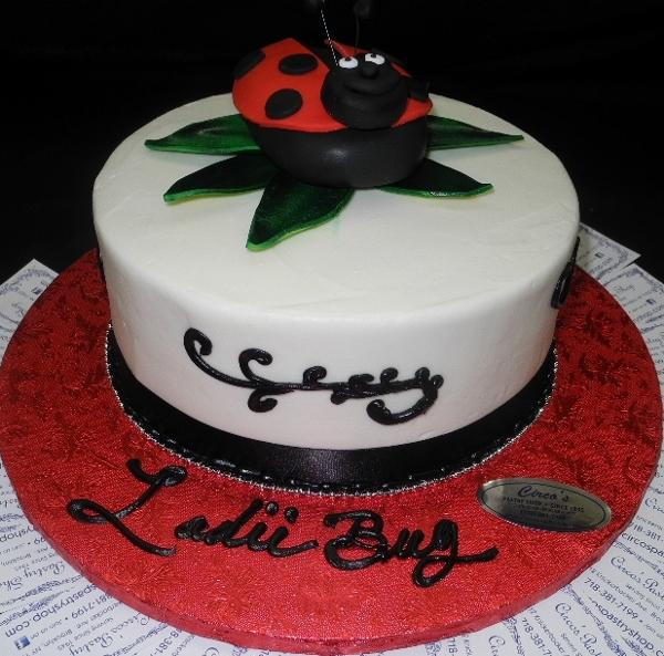 Lady Bug Birthday Tier Birthday Cake B0568 Circos Pastry Shop