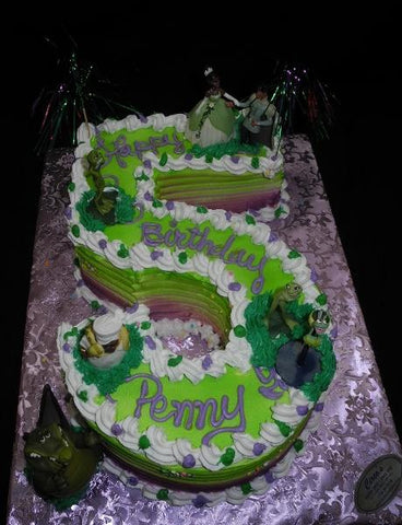 Princess and The Frog Birthday Cake - B0422
