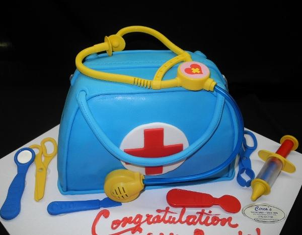 Fondant Medical Kit Bag - CS0213