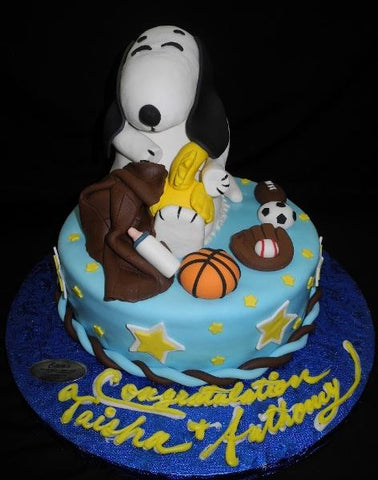 Snoopy Babyshower Cake - BS287