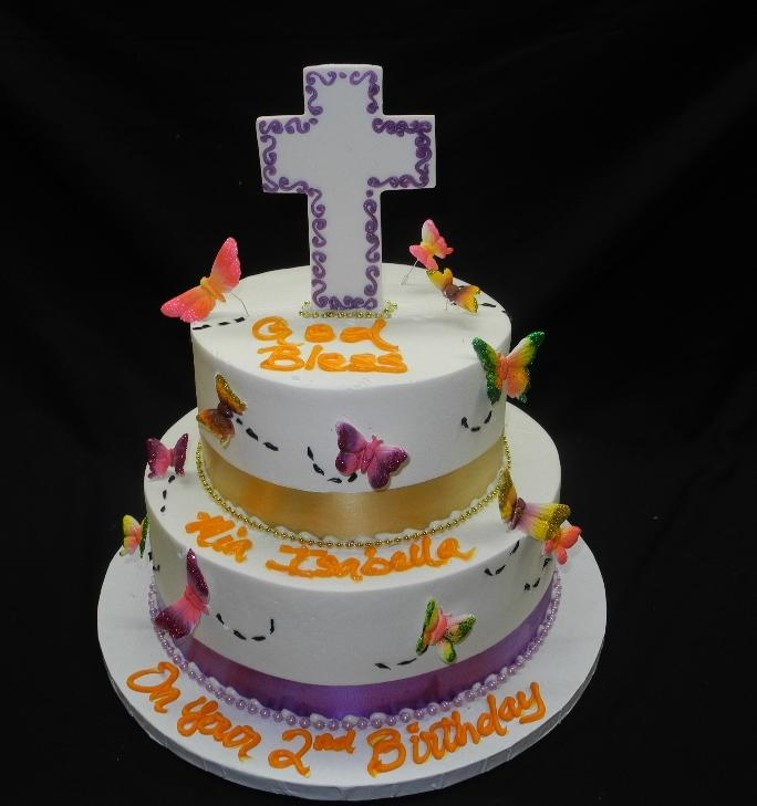 Christening and Birthday Cake - R050