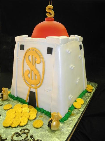 Money Bank Cake - CS0142