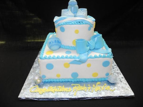 Babyshower Butter Cream Cake - BS130
