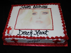 Lady Gaga Birthday Cake - B0564