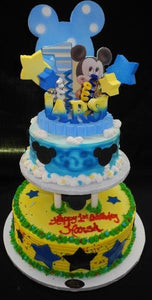Mickey Mouse Birthday Cake - B0523