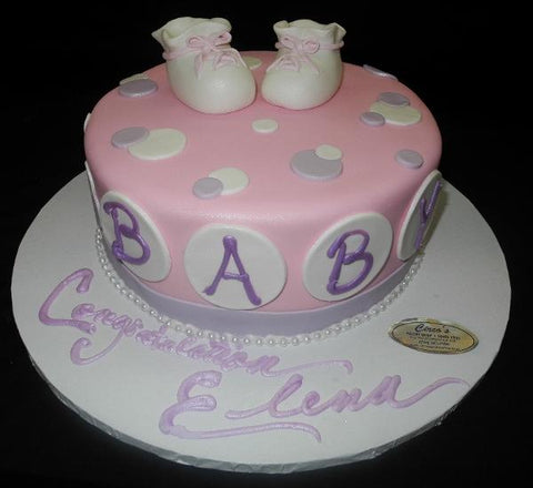 Lavender and White Baby Shower - BS206
