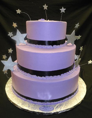 STARS, PURPLE, WHIP CREAM