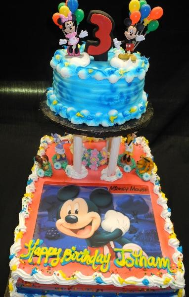 Edible Picture, Mickey Mouse, Tier