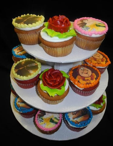 cupcakes, beauty and the beast