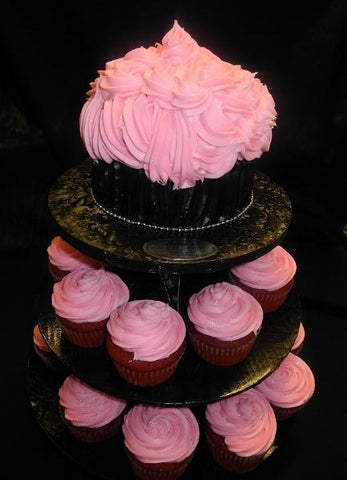 Pink Cupcake Tower - CC055