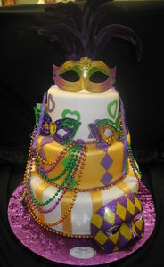 Mask, Pearls, Beads, mardi gras