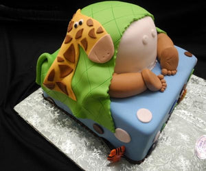 Baby Bottom Safari Baby Shower Cake Bs079 Circos Pastry Shop