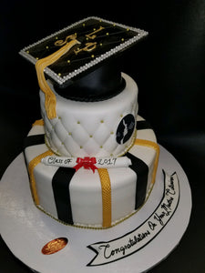 Graduation cake 2 tier CS0293
