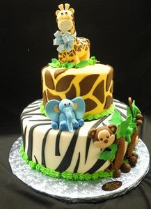 Safari Baby Shower Cake Bs275 Circos Pastry Shop