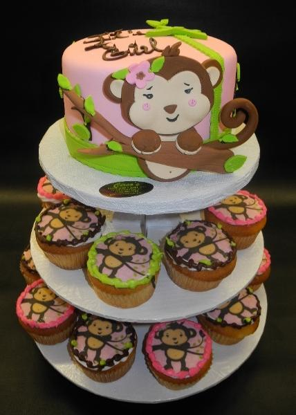 monkey, tree, edible image