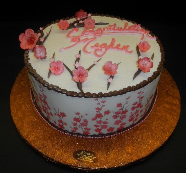 flowers, edible print, Icing