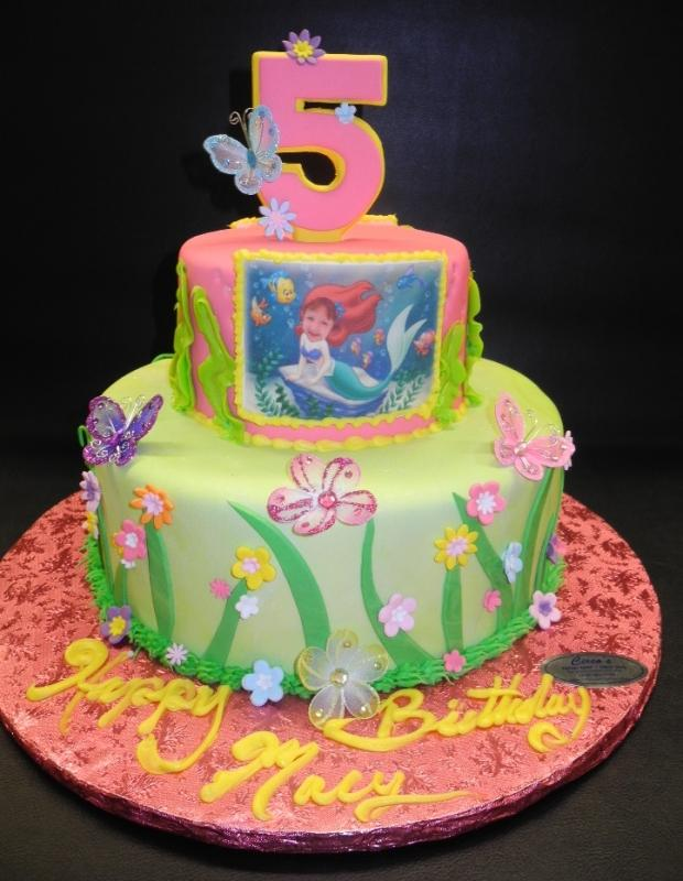 under the sea, little mermaid, fondant,