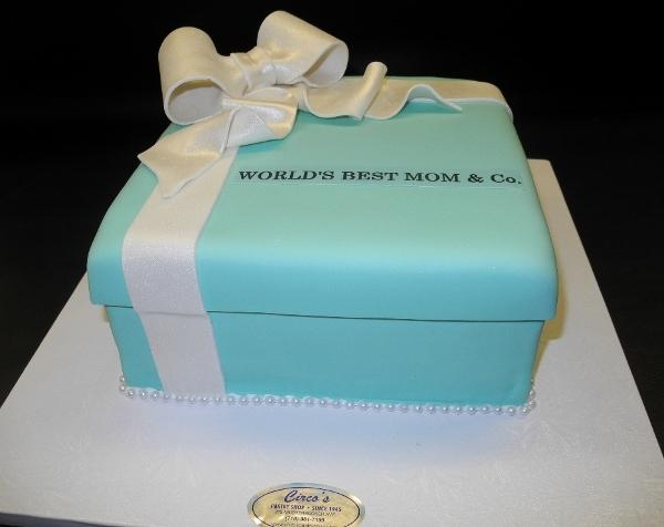 tiffany box, blue