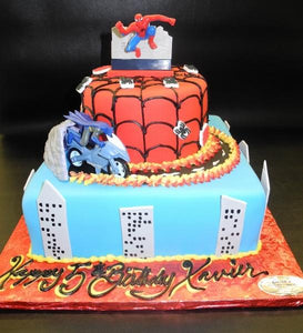SPIDERMAN, BATMAN, SPIDER WEBS, BUILDINGS,